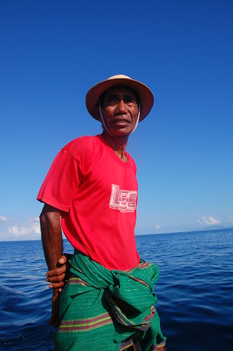 Our boat Bapak (elder)