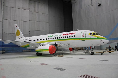 Lao Central SSJ100 painting