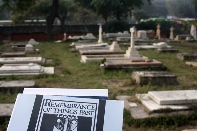 City Reading – The Delhi Proustians XXXVI, Nicholson Cemetery