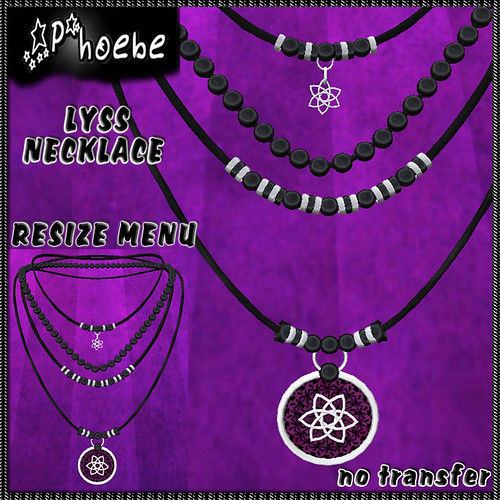[$60L PROMO] *P* Lyss Necklace