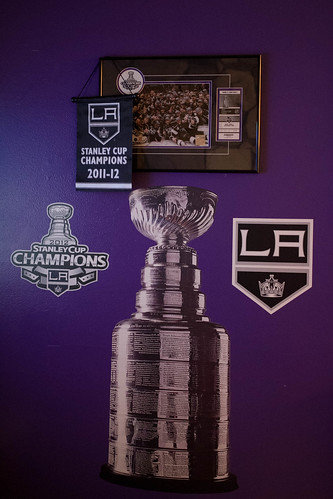 LA Kings wall