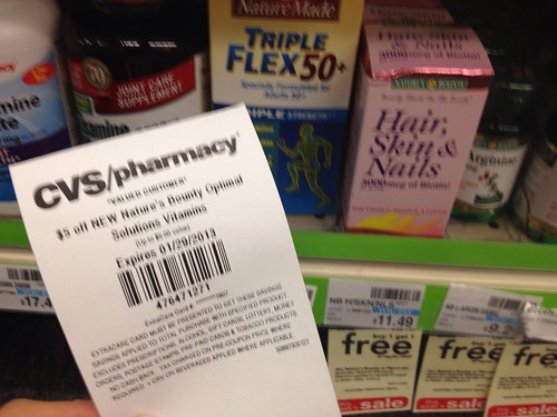 picture regarding Nature's Bounty Printable Coupon identified as Natures Bounty Hair Pores and skin Nails $1.51 Revenue Manufacturer at CVS