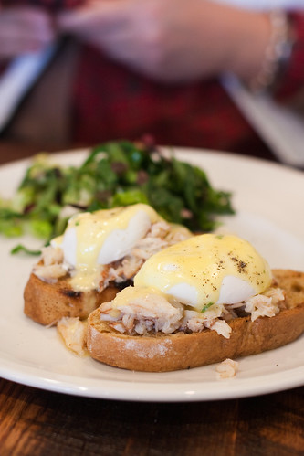 Anchor Woodfire Grill - crab and eggs benedict