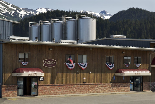 Using a first-of-its-kind steam boiler fueled by spent grain, the Alaskan Brewing Company in Juneau will reduce its use of fuel oil by over 65 percent.  The boiler was funded in part through the USDA Rural Energy for America (REAP) Program.   Photo credit: Alaska Brewing Company photo.