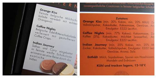 Hochwertige Schokolade