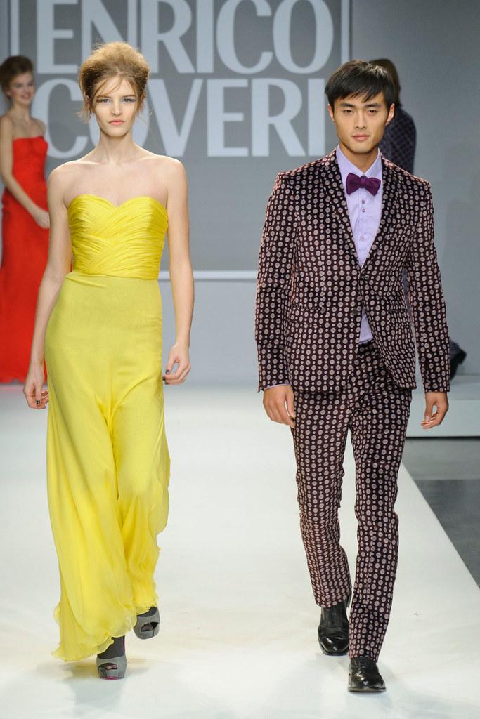 FW13 Milan Enrico Coveri030_Zhao Lei(fashionising.com)
