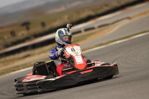 GP MotorVsMotor Trofeo Invernal Powerkart Kartpetania 2013 - Cristina Gutierrez