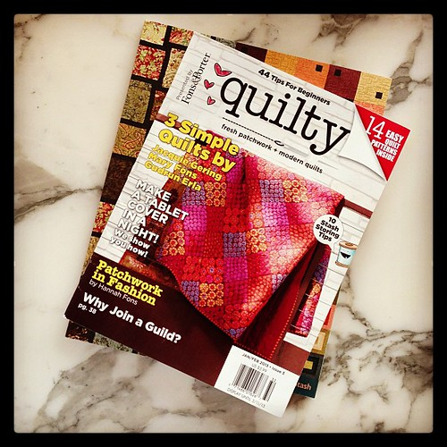 finally!  #quilty