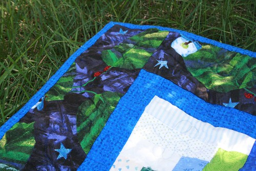 Firefly quilt corner