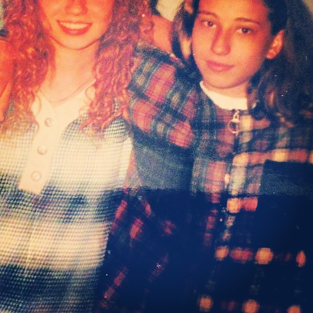 1990s fashion flashback: grunge! Plaid flannel shirts
