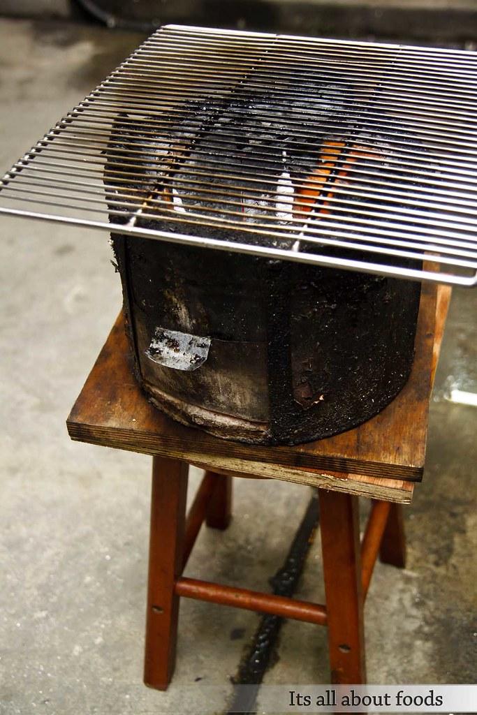 Gerai Makan Japanese BBQ taman desa charcoal