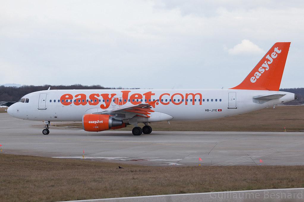 HB-JYE - A320 - EasyJet Switzerland