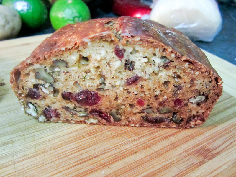 Cranberry Pecan Loaf with Rosemary