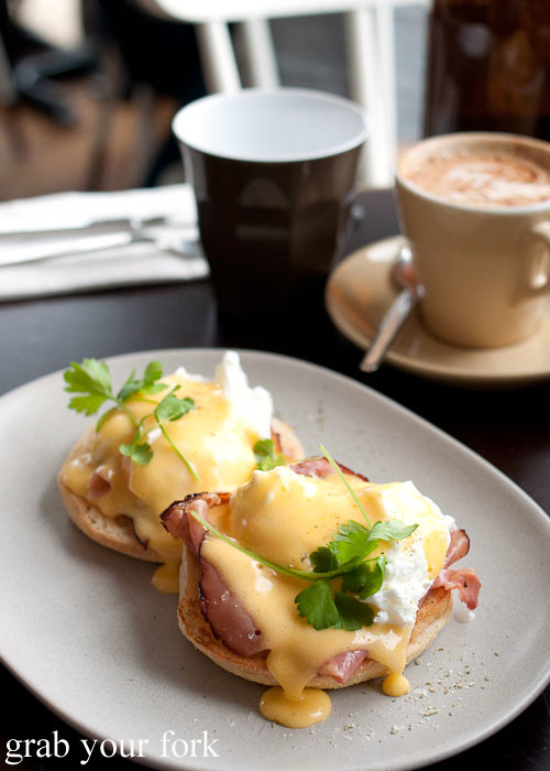 eggs benedict at excelsior jones ashfield