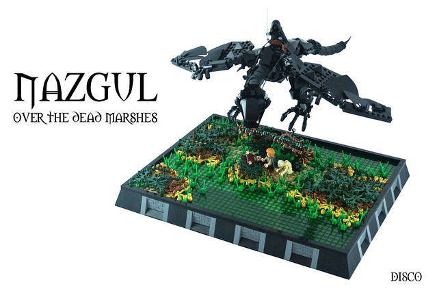 Nazgul over the dead marshes