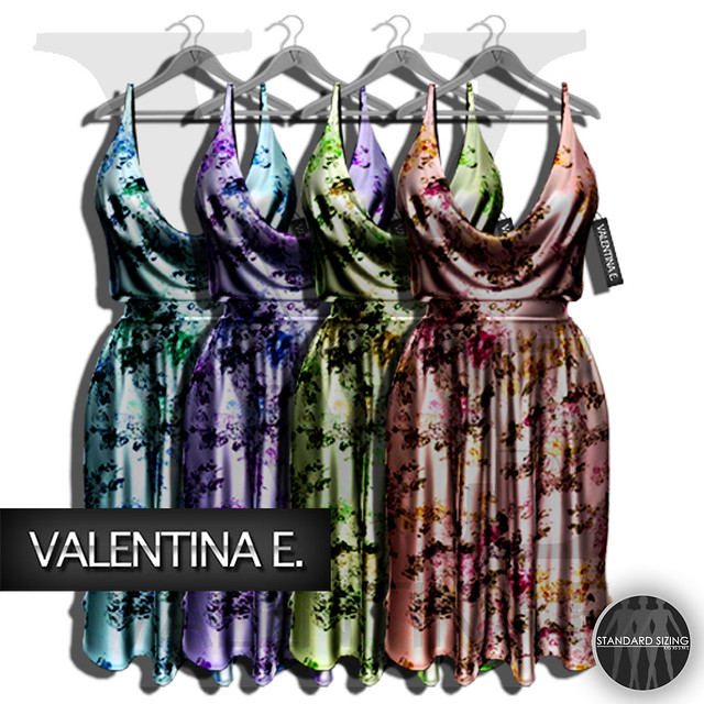 :V.e. Mesh Marilyn Dress Florals