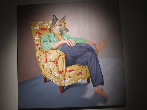 Juan Castillo: Sitting Dog