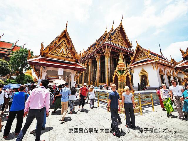 泰國曼谷景點 大皇宮 玉佛寺  33