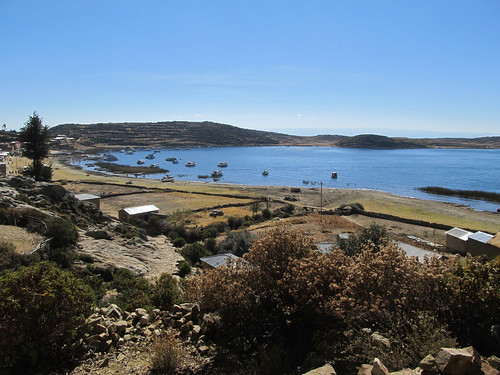 Lac Titicaca: l'Isla del Sol