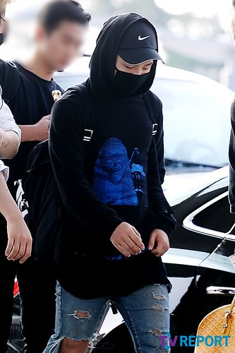 Big Bang - Incheon Airport - 07aug2015 - TV Report - 03
