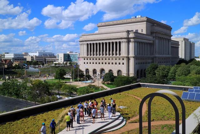 Green Roof Tour at Milwaukee Public Library