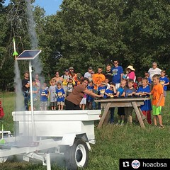 Cub Scouts know #RocketScience. The trail to next generation of #RocketScientists and #Astronauts. #BeAScout www.beascout.org