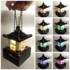 Japanese-style Colour-changing Lantern