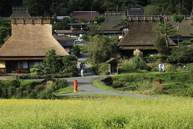 The local village in Kyoto