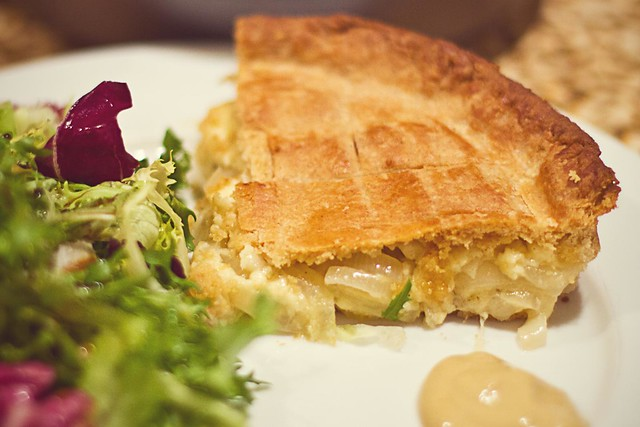 Mum's Cheese & Onion Pie