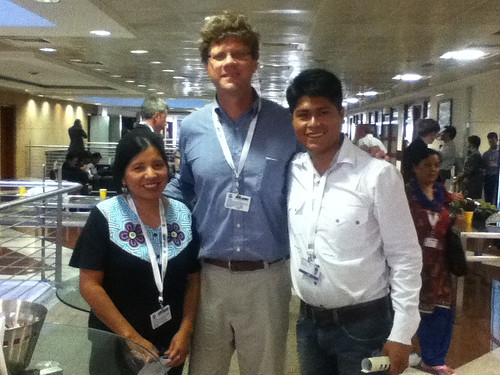 Viviana, Ron y Alex at #Cop11