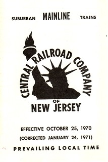 CRRNJ Main Line 1971 Cover