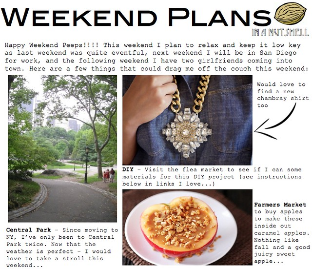 weekend plans 10.12