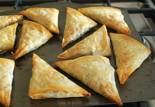 Spicy Vegetable Samosas 1