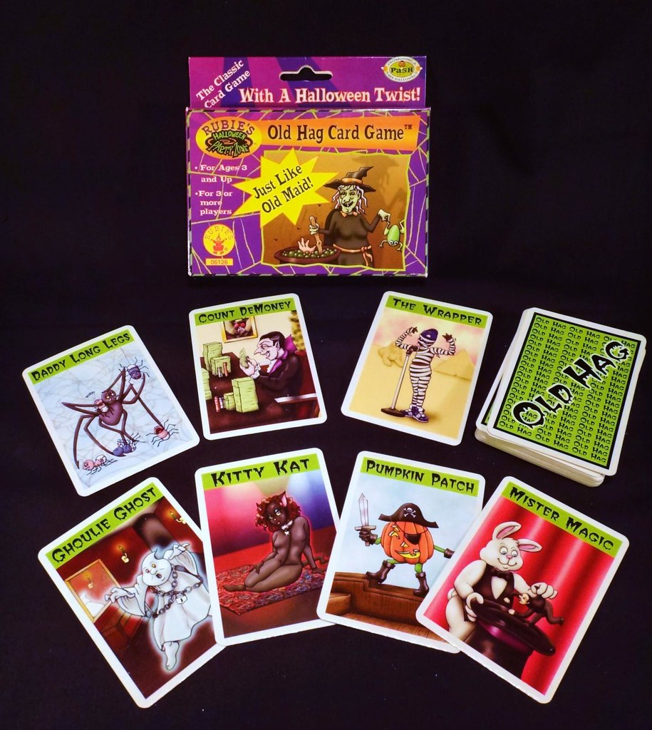 Rubie's Old Hag Halloween Card Game