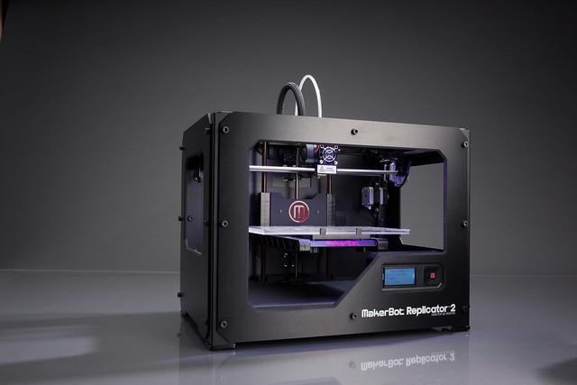 Makerbot Industries - Replicator 2 - 3D-printer 01