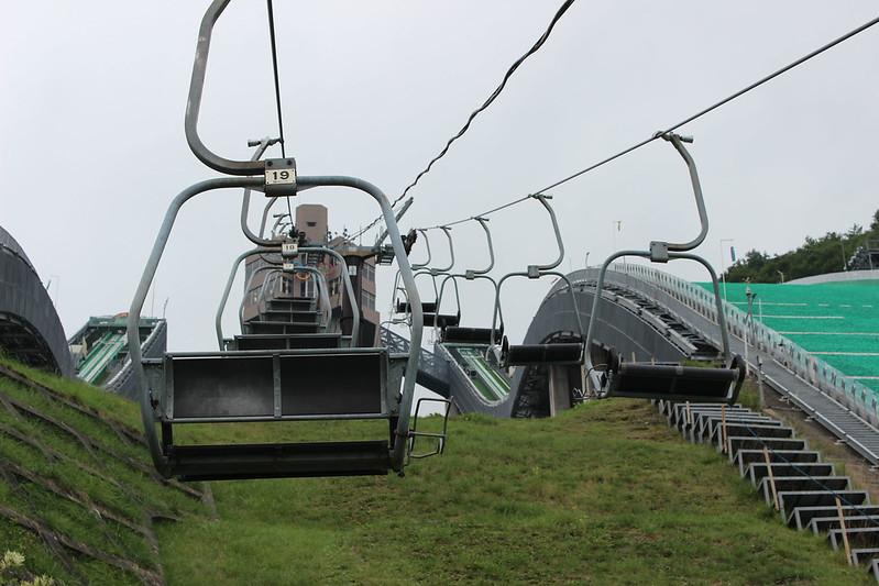 白馬ジャンプ競技場 リフト