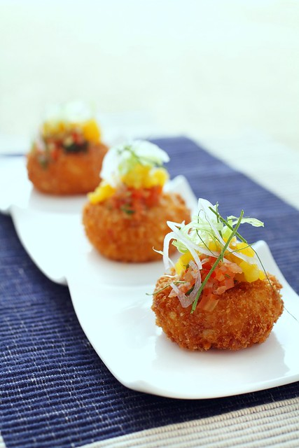 Cod Croquettes with Romesco Aioli-002
