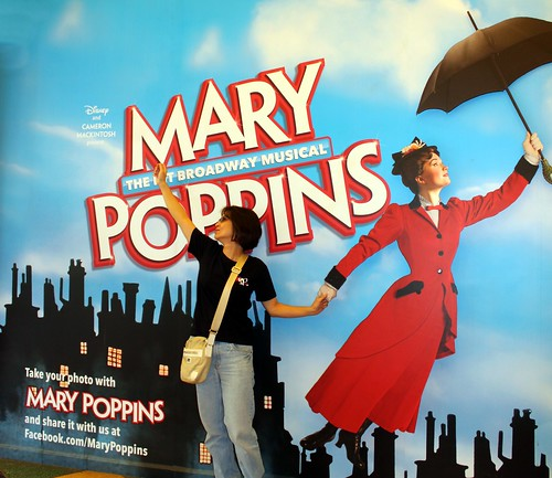 .... flight with Marry Poppins ....