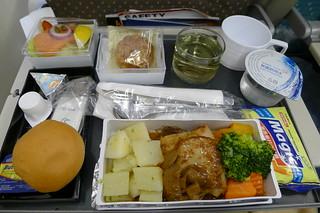 飛機 (晚) 餐
