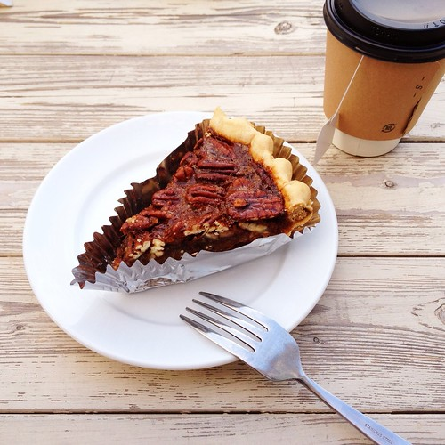 pecan maple pie