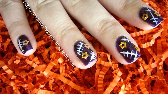 halloween nail art 2