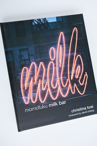 Momofuku Milk Bar's cookbook by Christina Tosi