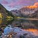 Autumn Sunrise at Convict Lake by Matt Granz Photography