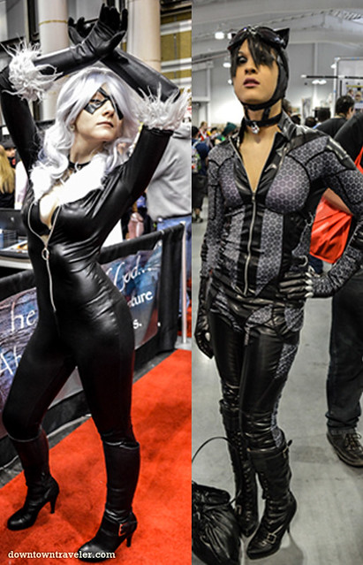 Bodysuit divas at NY Comic Con