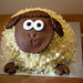 Smily Sheep Cake by the_amanda