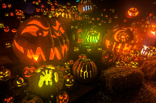 The Epic Jack-O-Lantern Display by Frank C. Grace (Trig Photography)