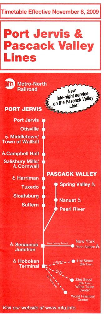 Port Jervis Pascack MN 2009-11