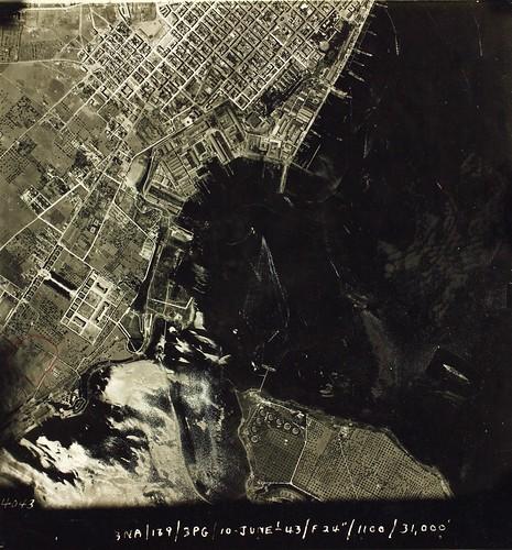 Reconnaissance Photo Aerial View Taranto, Italy