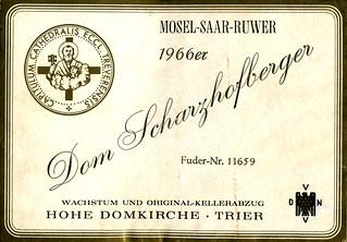 1966 - Dom Scharzhofberger (Saar)