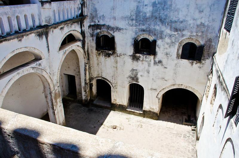 Elima Castle inner courtyard